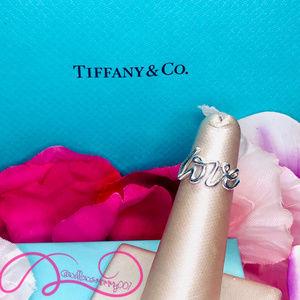MINT Tiffany & Co. Paloma's Graffiti LOVE Ring 925